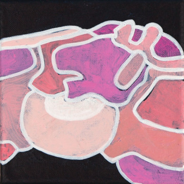 Iteration Pink 15-01 Painting