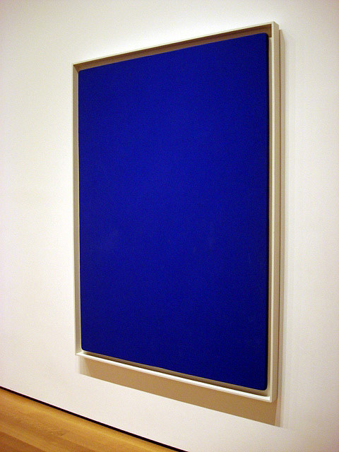 Yves Klein Blue Monochrome