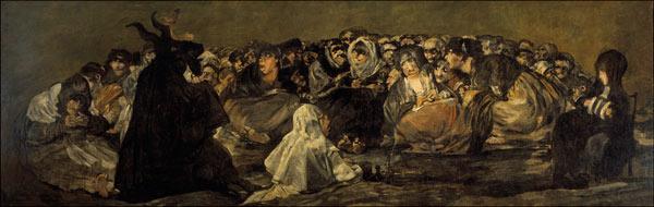 Goya Witches Sabbath