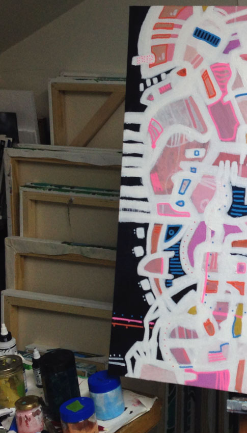 Image of studio painter Andrew Conti